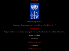 Thumbnail of defaced www.undp.org.sn