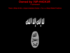 Thumbnail of defaced www.fhuce.edu.uy