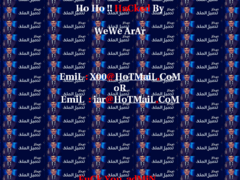 Thumbnail of defaced www.nationalregistration.gov.zm