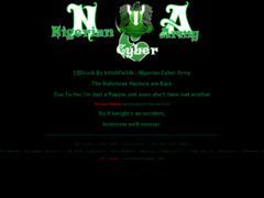 Thumbnail of defaced cybersecurity.gov.ng
