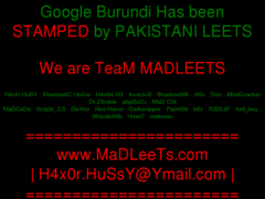 Thumbnail of defaced video.google.bi