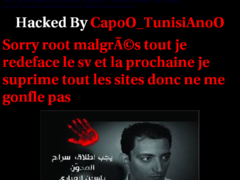 Thumbnail of defaced www.iace-event.tn