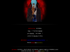 Thumbnail of defaced ylines.in