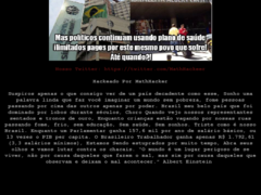 Thumbnail of defaced www.dce.sebrae.com.br