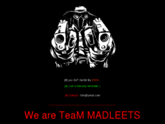 Thumbnail of defaced www.whois.nic.tg
