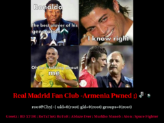 Thumbnail of defaced realmadrid.am