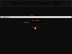 Thumbnail of defaced www.webpistol.in