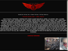 Thumbnail of defaced www.villesaintandre.fr
