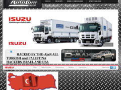 Thumbnail of defaced www.isuzu.com.gt