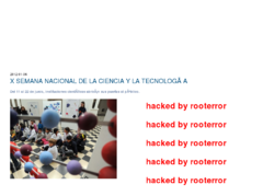 Thumbnail of defaced www.semanadelaciencia.mincyt.gov.ar