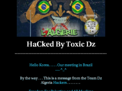 Thumbnail of defaced www.intertax.co.kr