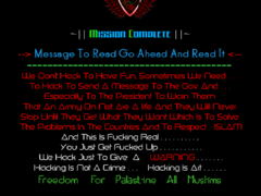 Thumbnail of defaced www.ideal.co.tz