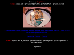Thumbnail of defaced www.mae.ufba.br