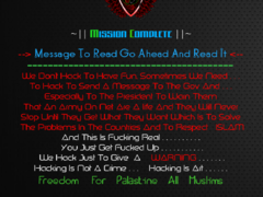 Thumbnail of defaced www.tanelec.co.tz