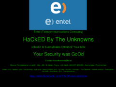 Thumbnail of defaced wsxg.entel.cl
