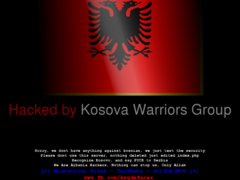 Thumbnail of defaced www.fup.gov.ba