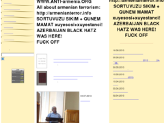 Thumbnail of defaced language.sci.am