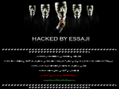 Thumbnail of defaced www.dcfr.res.in