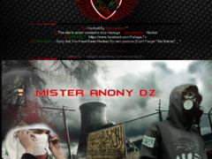 Thumbnail of defaced www.huntingknives.biz