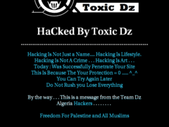 Thumbnail of defaced www.face100.com.hk