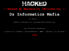 Thumbnail of defaced www.ggb.gov.gy