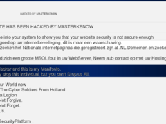 Thumbnail of defaced www.vectrix.nl