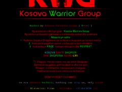 Thumbnail of defaced www.kovach.rs