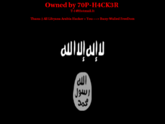 Thumbnail of defaced www.srvm.gov.za