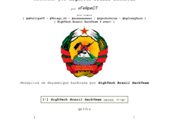 Thumbnail of defaced www.mozambique.mz
