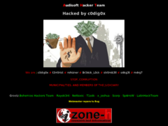 Thumbnail of defaced www.anca.org.ve