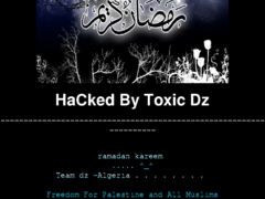 Thumbnail of defaced www.riccardobarthel.it
