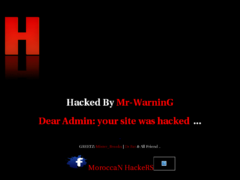 Thumbnail of defaced webdesign.eu.sk
