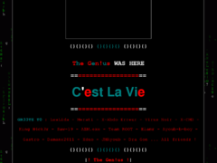 Thumbnail of defaced www.coccinella.lu
