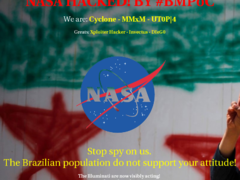 Thumbnail of defaced event.arc.nasa.gov