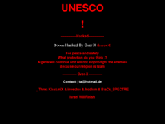 Thumbnail of defaced www.unesco.no