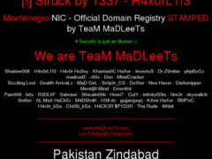 Thumbnail of defaced say.me