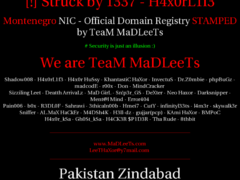 Thumbnail of defaced tel.me