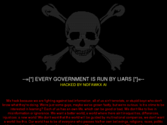 Thumbnail of defaced www.comune.quart.ao.it