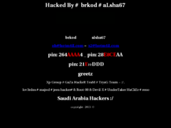 Thumbnail of defaced forweb.site.ge