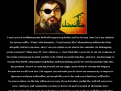 Thumbnail of defaced www.sinelfil.gov.lb