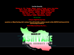 Thumbnail of defaced www.aapnews.tv