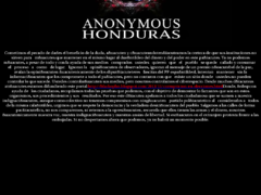 Thumbnail of defaced www.interpol.gob.hn