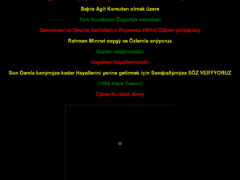 Thumbnail of defaced ulusar.org