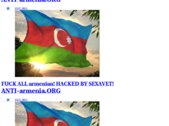 Thumbnail of defaced www.banker.am