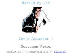 Thumbnail of defaced www.pic.gov.za