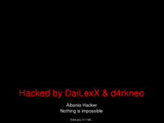 Thumbnail of defaced www.concours.gov.bf