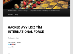 Thumbnail of defaced www.vizo.si