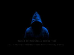 Thumbnail of defaced www.pnbg.mr