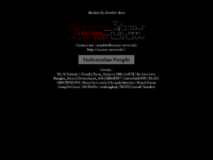 Thumbnail of defaced facultypages.lsua.edu
