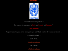 Thumbnail of defaced www.un.org.sn